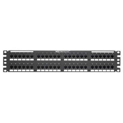 """Picture of 48 poort 19"""" rj45 patchpaneel"""